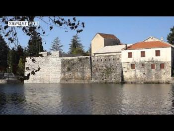 Завршна фаза реконструције зидина Старог града и дока (ВИДЕО)