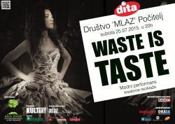 Kreativne radionice Waste is Taste biće brendirana tuzlanskom Ditom