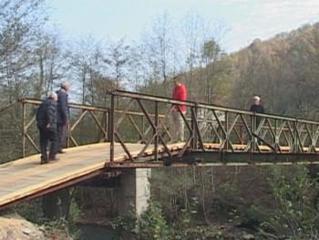 Foča: Šubljani nakon 26 godina dobili most preko Ćehotine