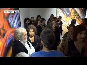 Slike i skulpture Miloša Šobajića pred trebinjskom publikom (VIDEO)