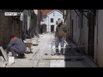 U toku rekonstrukcija Starog grada (VIDEO)