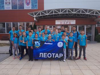 Plivačima Leotara pehar i 39 medalja u Kragujevcu