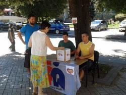 Foča: Dobar odziv građana akciji