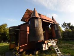Od kamiona napravili pokretni dvorac (VIDEO)