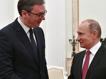Владимир Путин одликовао Александра Вучића