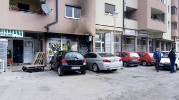 Trebinje: Gorio ''BMW' u Mokrim Dolovima (FOTO)