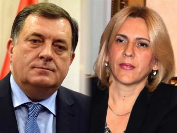 Predsjednik i premijerka Srpske na velikoj vježbi Vojske Srbije