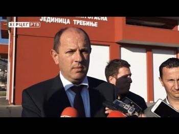 Gradonačelnik sa saradnicima obišao Vatrogasni dom (VIDEO)