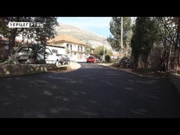 Trebinje: Nakon 40 godina asfaltirana ulica Starine Novaka (VIDEO)