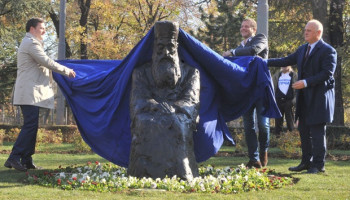 U Beogradu otkriven spomenik patrijarhu Pavlu