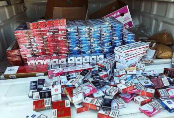 U Ljubinju oduzeto 5.500 paklica cigareta