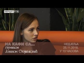 Najava: NA KAFI SA Jovanom Stojiljković (VIDEO)