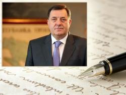 Dodik uputio pismo institucijama BiH, zemljama regiona i ambasadama