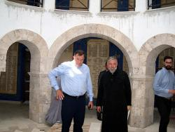 Predsjednik Dodik obišao novoizgrađeni hram Vaskrsenja Hristovog u Prebilovcima