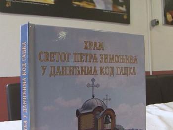 Gacko: Promovisana knjiga 'Hram Svetog Petra Zimonjića'
