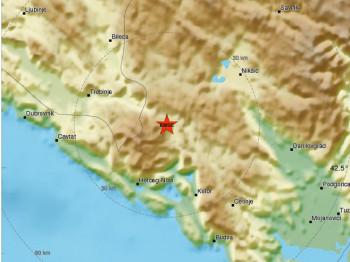 Zemljotres 3,6 stepeni po Rihteru uz granicu Crne Gore sa Republikom Srpskom