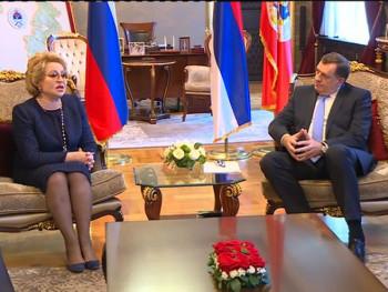 Matvijenko: Dodik zaštitnik srpskih interesa