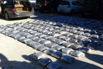 Crnogorci sa 200 kilograma droge pali u Bileći