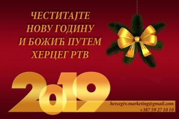 Mi smo tu zbog vas: Putem Herceg Televizije čestitajte Novu godinu i Božić