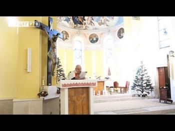 Katolički vjernici proslavljaju Božić (VIDEO)