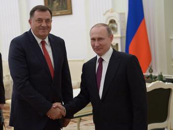 Putin čestitao Dodiku Novu godinu i Božić