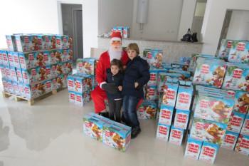 Opština i HET darovali nevesinjske mališane (FOTO)