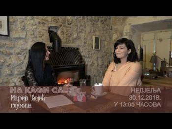 NAJAVA: NA KAFI SA... Marijom Đajić (VIDEO)