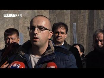 Saša Borjan kandidat opozicije za gradonačelnika Trebinja (VIDEO)