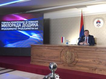 Dodik: Uspješna godina iza nas, nastavljamo krupnim koracima naprijed