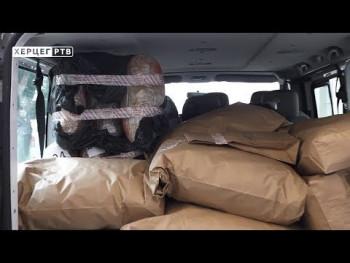 U Gacku zaplijenjeno više od 240 kilograma skanka (VIDEO)