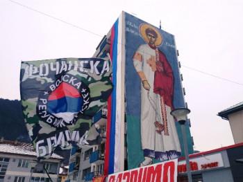 Foča: Zablistala ikona Svetog arhiđakona Stefana, visoka skoro 30 metara
