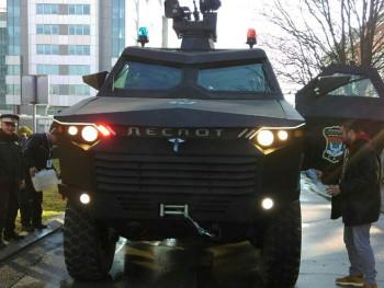 'Despot' ponos Srpske: Oklopno vozilo najveće iznenađenje svečanog defilea