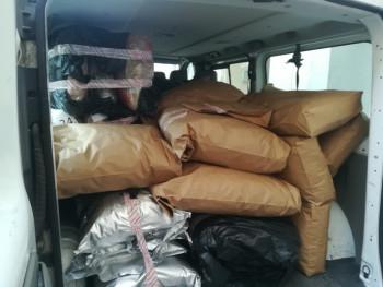 Detalji o zaplijeni 240 kilograma droge kod Gacka: Vozač skanka pokušao da iskoči iz kombija