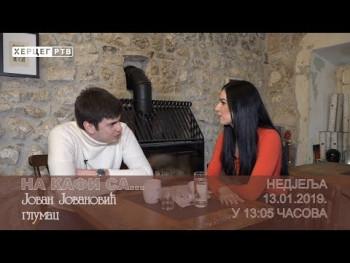 NAJAVA: NA KAFI SA... Jovanom Jovanovićem (VIDEO)