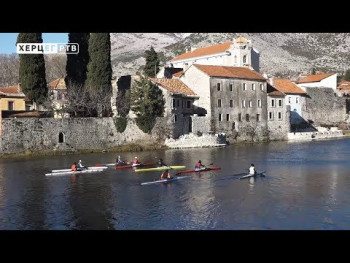 Kajakaška reprezentacija Srbije na zimskim pripremama u Trebinju (VIDEO)