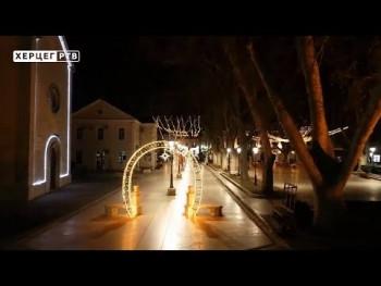 Trebinje noću (VIDEO)