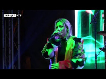 Ana Kokić uvela Trebinjce u pravoslavnu Novu godinu (VIDEO)