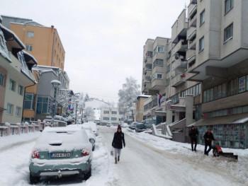 Foča: Palo 20 centimetara novog snijega, putevi zasnježeni