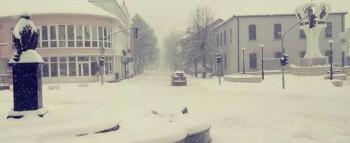 Gacko pod sniježnim pokrivačem visine 20 cm