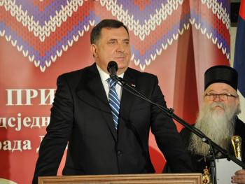 Božićni prijem - Dodik poručio: Srpsku čekaju bolji dani (FOTO)