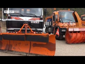 'Hercegovina putevi' spremni za snijeg (VIDEO)