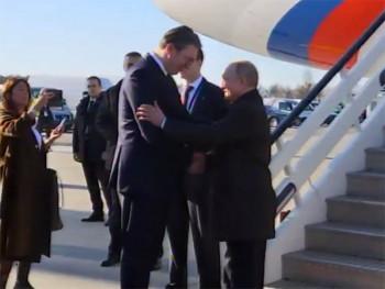 Putin stigao u Beograd