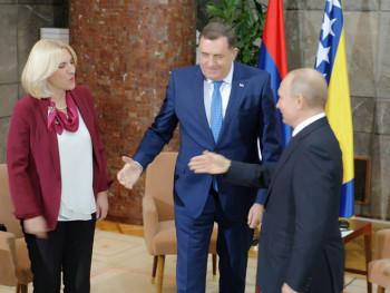 Цвијановићева и Додик са Путином: Сарадња се успјешно наставља