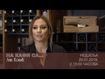 NAJAVA: NA KAFI SA Anom Kokić (VIDEO)