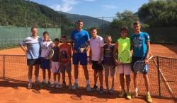 Nekadašnji šampion Srbije u tenisu posjetio Foču