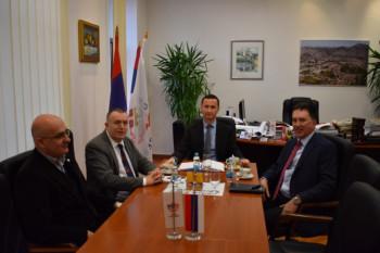 Trebinje: Ćurić se sastao sa šefom Kancelarije OSCE-a