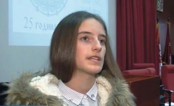 Ani Ćorović iz Ljubinja prva nagrada na Svetosavskom književnom konkursu u Beogradu
