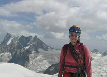 Fočanka u pohodu na argentinski vrh Akonkagvu