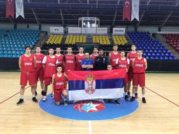 Bilećanin Vuk Bošković sa košarkaškom reprezentacijom Srbije drugi na turniru u Turskoj