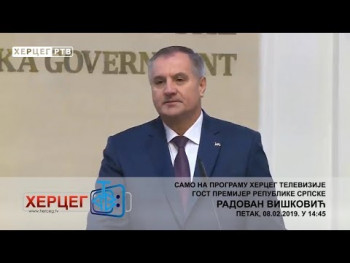 NAJAVA: Radovan Višković ekskluzivno za Herceg RTV (VIDEO)